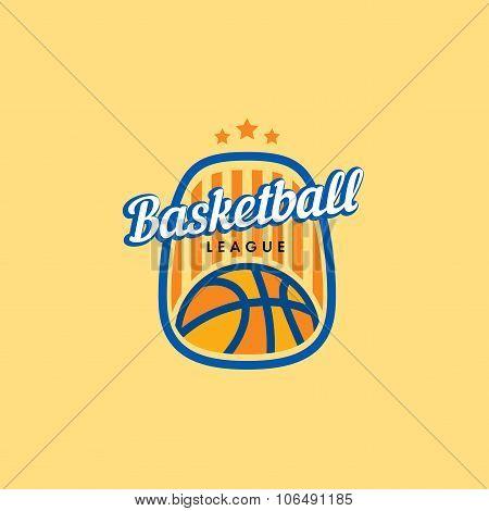 Basketball Vector Logo Template