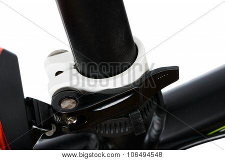 Closeup Of Seatpost Clamp