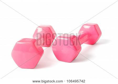 Pink Dumbells