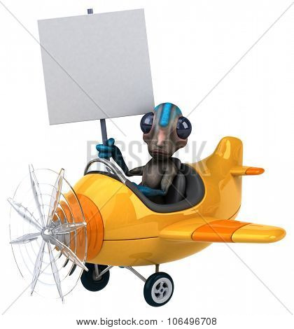 Fun alien