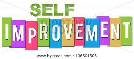 Self Improvement Professional Colorful