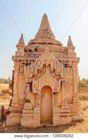 White pagoda - Bagan