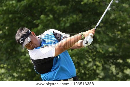 Kiradech Aphibarnrat  (tha) At  The Golf French Open 2015