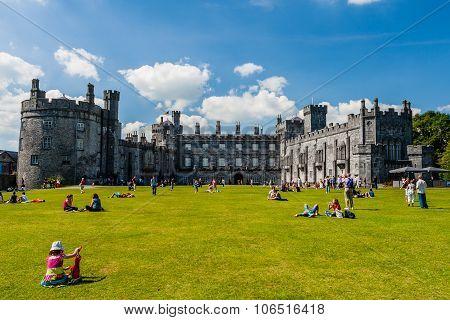 Kilkenny Castle And Gardens, Kilkenny, Ireland