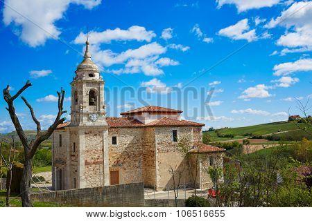 Villafranca Montes de Oca by the Way of Saint James in Castilla Burgos