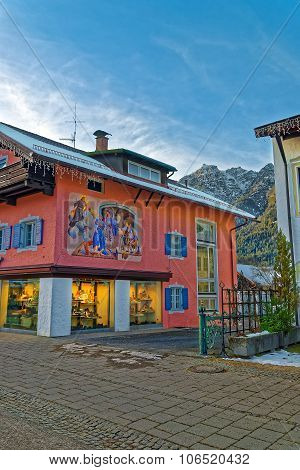 Architecture Of Garmisch-partenkirchen
