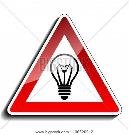 A warning sign ideas