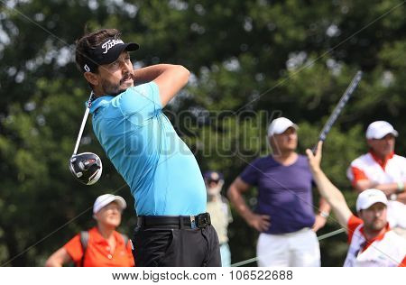 Mike Lorenzo Vera (fra) At  The Golf French Open 2015