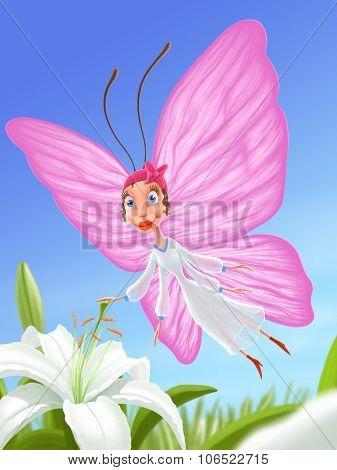 Illustration - Butterfly