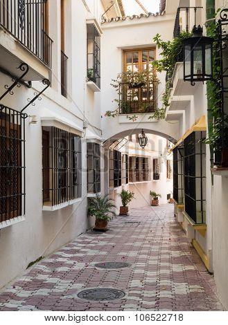 Window Grilles In Marbella Street