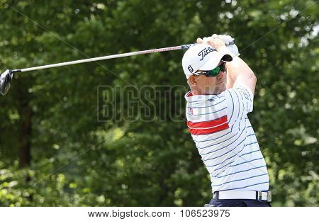 Paul Maddy (eng) At  The Golf French Open 2015