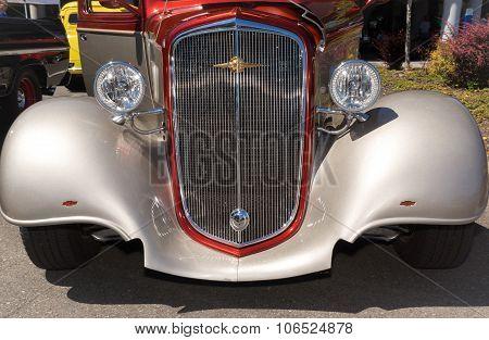 1935 Chevorlet Custom Coupez