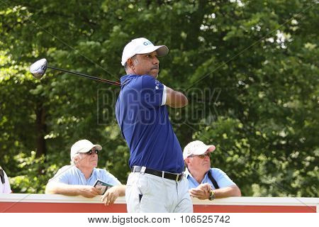 Jeev Milha Singh (ind) At  The Golf French Open 2015