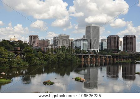 Skyline of Richmond, Virginia