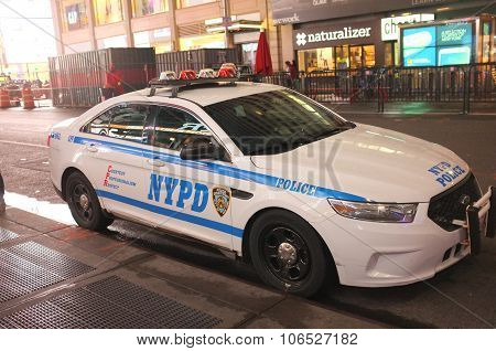 Nypd Police Squad Car
