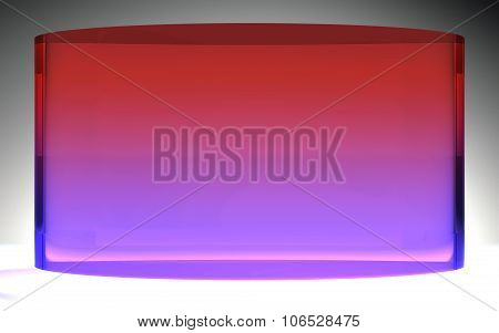 Futuristic Liquid Crystal Display Purple Red