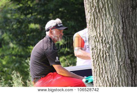 Darren Clarke  (nir) At  The Golf French Open 2015