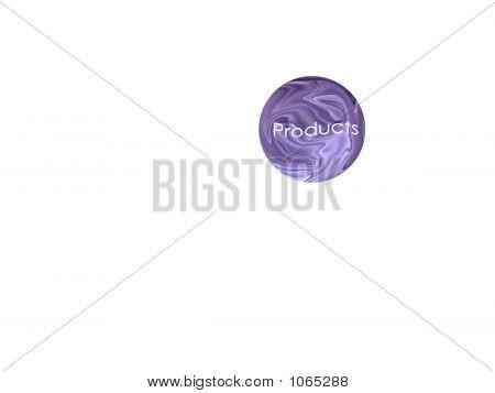 Products Button Purple Swirl