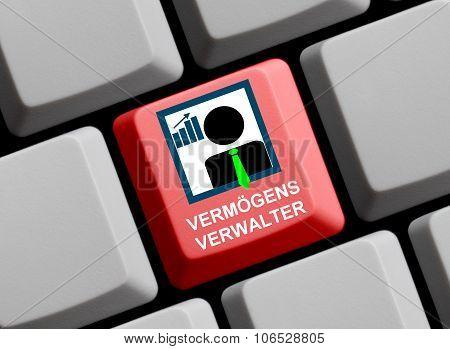 Computer Keyboard - Custodian German