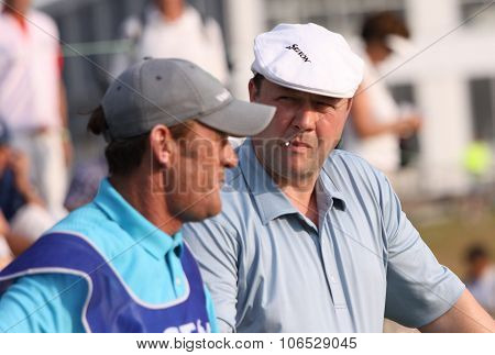 Chris Doak (sco) At  The Golf French Open 2015