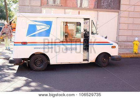 United States Postal Service Usps Delivery Van