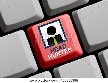 Computer Keyboard -headhunter