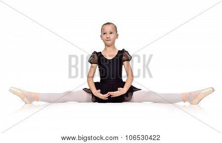 Ballerina Sat On The Twine