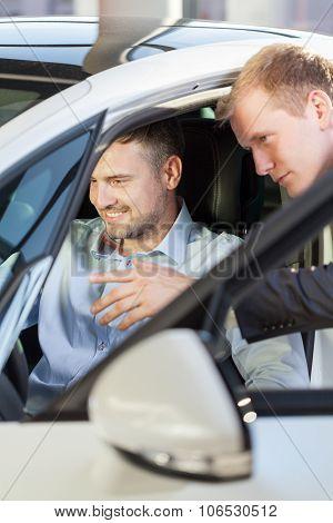 Client Testing Car