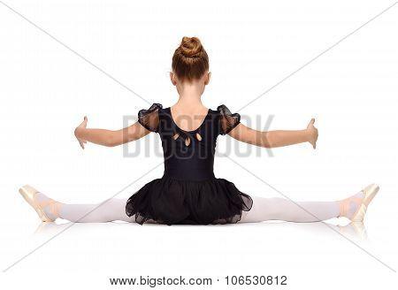 Little Ballerina Sat On Twine