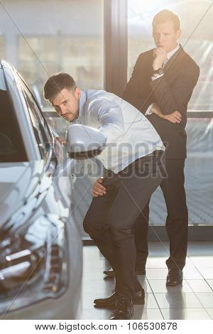 Car Showroom Customer