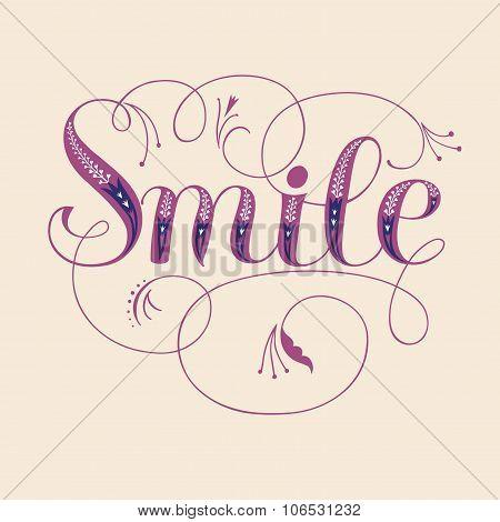 Smile Vintage Title