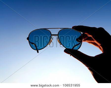 Sunglasses On The Sky
