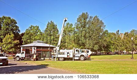 Boom Crane Truck Construction