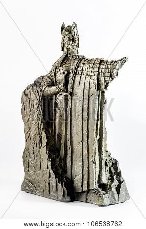 Zagreb, Croatia - January 23: Lord Of The Rings Figurine Showing Isildur The Argonath, King Of Gondo