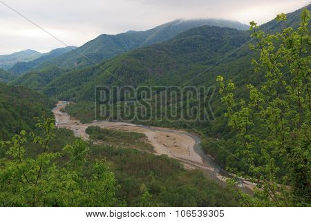 mountain river Psezyuape