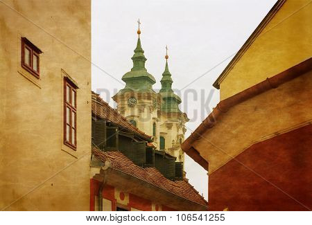 The Medieval Town Of Eger