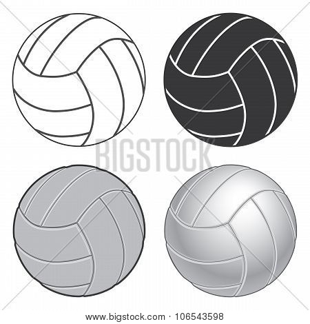 Volleyball Four Ways