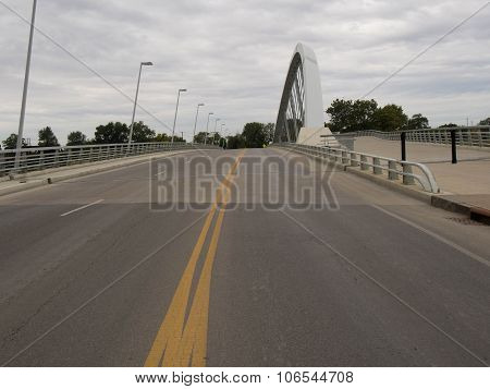 Main St Bridge With Markings