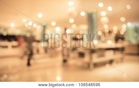 Image Of Blur People At Buffet Catering Room