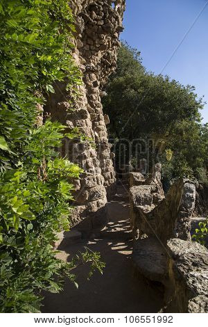 Viducts, Park Guell