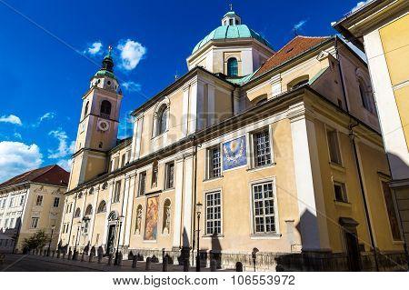 Ljubljana Nicholas Church