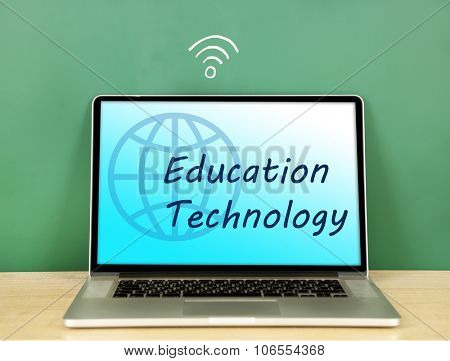 Education technology concept