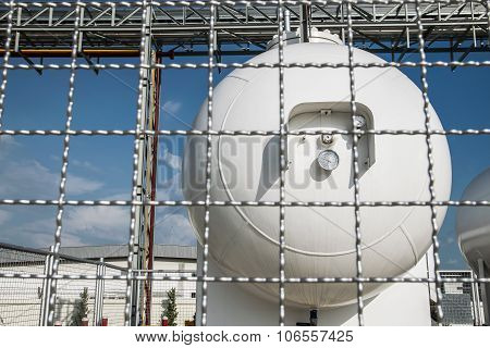 Steel Industrial Gas Tank For Storage Of Lpg