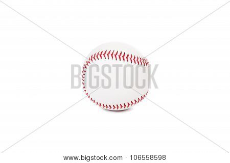 Baseball Ball On The White Background