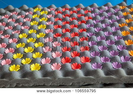 Gum Paste Made From Sugar For Decorating Pastry