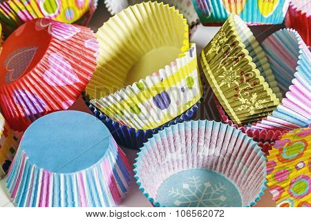 Colorful Cupcakes Paper Packaging