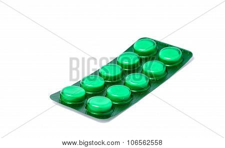 Packings Of Pills And Capsules Medicines