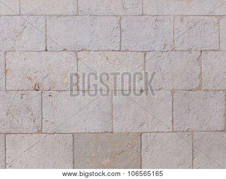Wall Of Gray Stone
