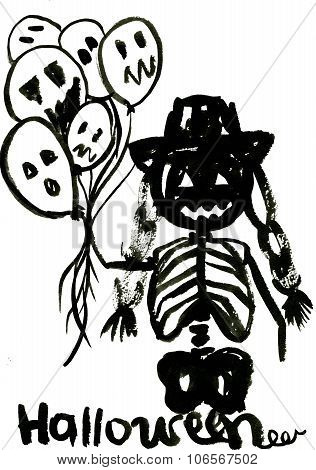 Blakc Halloween Symbol