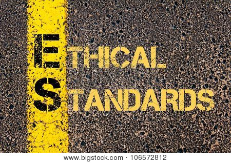 Business Acronym Es As Ethical Standards